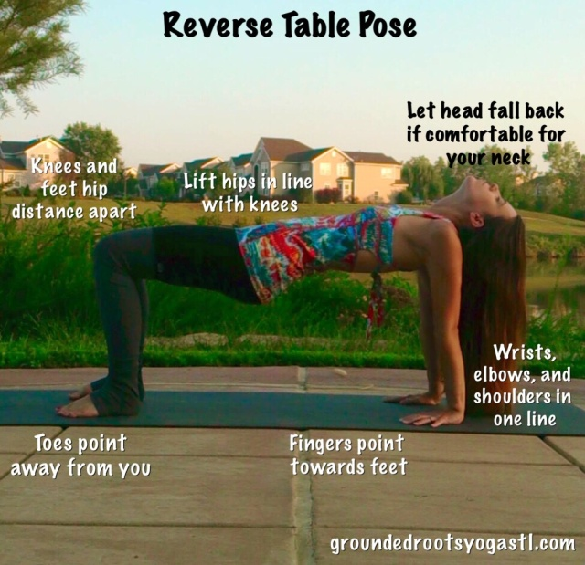 Reverse Table Pose