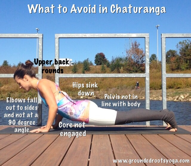 What not to do in Chaturanga